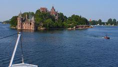 Boldt Castle on Heart Island, Alexandria Bay, NY (Image copyright Korey W. Chandler)