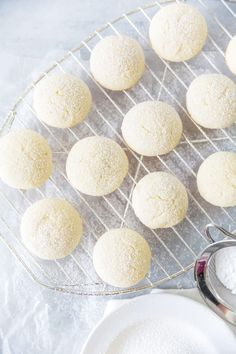 Cream Cheese Cookies (Pillow Soft Cookies) | Pizzazzerie Cream Cheese Cookie Recipe, Cream Cheese Sugar Cookies, Cream Cheese Recipes, Sugar Cookies Recipe, Yummy Cookies, Cake Cookies, Cookies Et Biscuits, Cookie Recipie, Eating Clean
