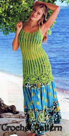 Crochet for Girls and Woman sumer Top cover up, tunic S,M,L.Pattern INSTRUCTION only, PDF Files by ErenaCrochetStudio on Etsy https://www.etsy.com/listing/195198021/crochet-for-girls-and-woman-sumer-top