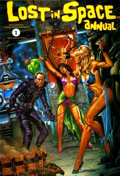 LOst in Space pulp sci-fi Pulp Fiction Kunst, Arte Do Pulp Fiction, Science Fiction Kunst, Sci Fi Comics, Bd Comics, Horror Comics, Horror Art, Comic Book Covers, Comic Books Art