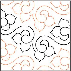 Machine Quilting Patterns | Lithe-quilting-pantograph-pattern-Lorien-Quilting.jpg