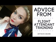Advice from Flight Attendant Training - YouTube