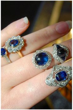 The sultry beauty of sapphires is staggering...