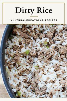 Rice Recipes Vegan, Cajun Recipes, Sauce Recipes, Lunch Recipes, Delicious Recipes, Yummy Food, Sausage Rice, Hot Sausage, Shrimp And Sausage Gumbo