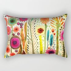 Watercolor style flower throw pillows, for pastoral style home decor. Colorful flower throw pillows for couch, bright colors, with fabric sofa will be more beautiful. Colorful Couch, Colorful Throw Pillows, Decorative Pillows, Couch Pillows, Down Pillows, Floor Pillows, Cushions, Cheap Pillows, Textiles