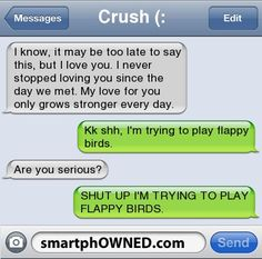 Funny text messages to your boyfriend