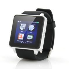 Watch Phone 1.54 Inch Capacitive Touch Screen, Bluetooth