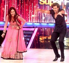 Bollywood Dance :Hrithik Roshan shakes a leg with Madhuri Dixit on the grand finale of 'Jhalak Dikhhla Jaa' #Bollywood #Fashion #Style