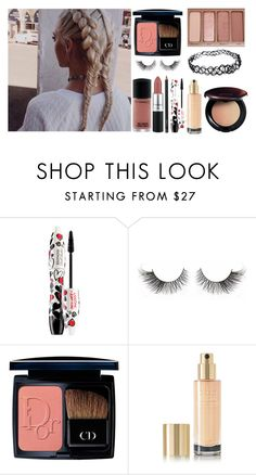 """""""Hair Style ♡"""" by shanelle-khl ❤ liked on Polyvore featuring beauty, Lancôme, M.A.C, Christian Dior, Urban Decay, Yves Saint Laurent and Sensai"""