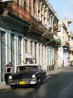 One of the most intriguing cities I've visited - Havana - Cuba