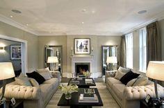 23 Stunning Modern Living Room Design Ideas - Style Motivation