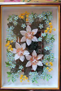 Крупные лилии