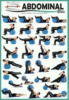 Abs on a Exercise Ball