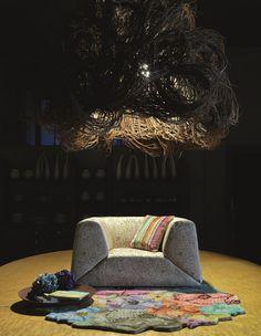 רנבי - שטיח בחיתוך לייזר, שטיח מקולקציית מיסוני מ-1,800 שקל