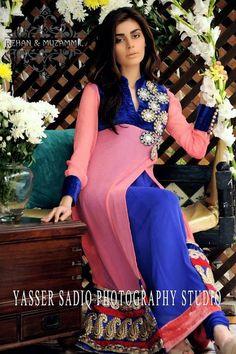 Rehan & Muzammil Eid Dresses 2013 For Women 0016