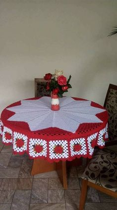 Baby Patterns, Crochet Patterns, Crochet Storage, Dinner Room, Table Covers, Doilies, Crochet Baby, Holiday Decor, Rose