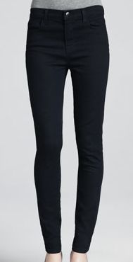 Black skinny jeans are an easy denim option that pairs well with many seasonal fall outfit choices.  (via @Harmon Metzinger by Neiman Marcus www.cusp.com)