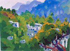 Gouache Painting, Sovek