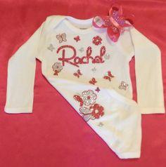 Glitter name shirt babytoddler sizes Sparkle shirt by MommaMays