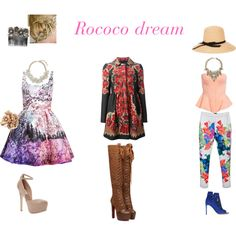 """""""Rococo Dream"""" by shellishells on Polyvore"""