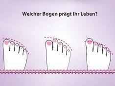Fußdiagnose: Das verrät dein Fußbogen über deine Persönlichkeit