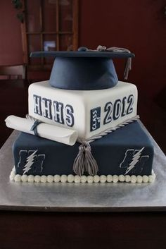 2012 Graduation Cake. Like A Chance of Showers on facebook! http://www.facebook.com/chanceofshowersonline?ref=tn_tnmn