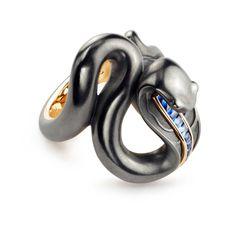 Black galaxy Badtz-Maru glitter square resin jewelry dish