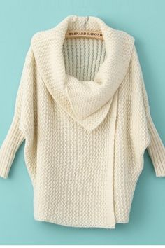 Beautiful Cowl Neck Sweater