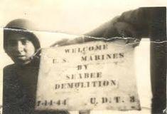 Seabee Demolition UDT 3 - Underwater Demolition Team - Wikipedia Port Hueneme, Criminal Law, United States Navy, Zodiac Quotes, Us Navy, Marine Corps, World War Two, Wwii, Underwater