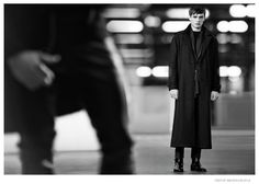 Adrien Sahores Poses in 70s Inspired Designs for Tiger of Sweden Fall/Winter 2014 Ad Campaign image Tiger of Sweden Fall Winter 2014 Campaign Adrien Sahores 005