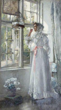 Morning by Patrick William Adam (Scottish 1854-1929)