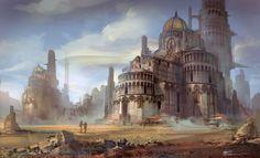 Fantasy Desert City | Sunday, April 7, 2013