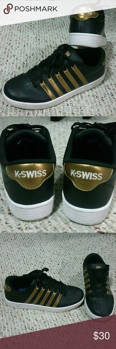K-Swiss Shoes Size: 7 Slightly used. Great condition. K-Swiss Shoes Sneakers