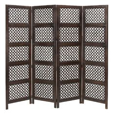 Aspire Home Accents Four-Panel Room Divider | from hayneedle.com