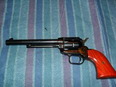 .22 single action revolver Rough Rider.  This is the exact gun I just got for an early birthday present!!!