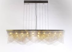A new wave.  Add a layer of lighting to your interior with willowlamp's new StreamWave chandelier. Named for the way it evokes the feeling of movement, ourlatest fixture is a striking piece that plays with perception - its shape appears to transform from different angles.  Read more about our new pieces by visiting the link in our bio.  #willowlamp #newdesigns #wallmountedlamps #interiordesign Lighting Ideas, Lighting Design, Wall Mounted Lamps, Light Installation, Perception, Pendant Lamp, Instagram Feed, Angles, Plays