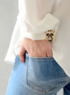 Need a new way to accessorize your favorite shirt? Anne Fontaine has created a new line of cufflinks for women in the upcoming Spring Summer collection!                                                                                                                                                                                 More