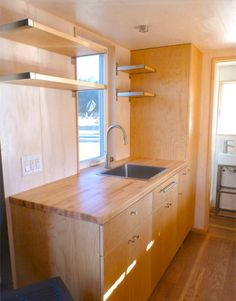 Living in a shoebox   The architect's tiny house