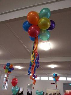 Ideas Birthday Kids Decoration Sesame Streets For 2019 Balloon Ceiling, Balloon Arch, Ceiling Decor, Balloon Decorations, Birthday Party Decorations, Carnival Birthday Parties, Office Birthday, Baby Birthday, Deco Ballon