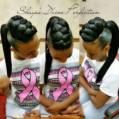 Fishtail Braid w/ponytail