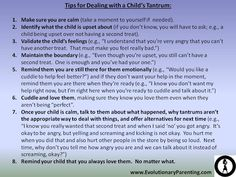 Abstract In this article I discuss what a tantrum is, why the typical responses are incorrect, and a method for handling tantrums that will help families in the long-term. Contrary to popular belief, a tantrum is not a means for a child to piss you off, but rather to express overwhelming emotions that the