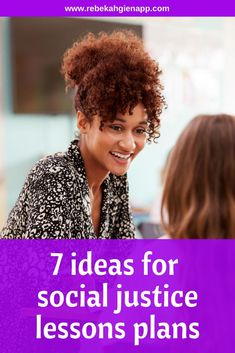 Find creative & simple ideas for social justice lesson plans in a variety of subjects, including math, reading, social studies & the arts. Suffrage Movement, Civil Rights Movement, Grammar Lessons, Music Lessons, Free Activities, Literacy Activities, Student Volunteer, Gender Stereotypes, Reading Tips