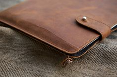iPad Mini Leather Sleeve  RUM DIARY by filzstueck on Etsy, $89.00