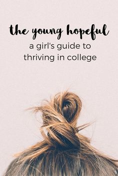 If you want to learn what it takes to truly thrive in college, then you've come to the right place. Here at The Young Hopeful, we're all about practical, real-life advice and tips that will make your college experience that much easier.