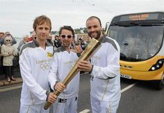 Muse torchbearers (Love Matt's face)