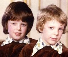 Yoursweetremedy:  Crown Prince Frederik and Prince Joachim of Denmark as children