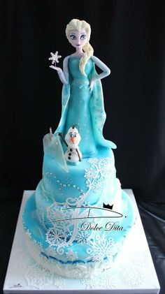 Amazing Frozen Cake!