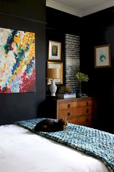 60 cool eclectic master bedroom decor ideas (2)