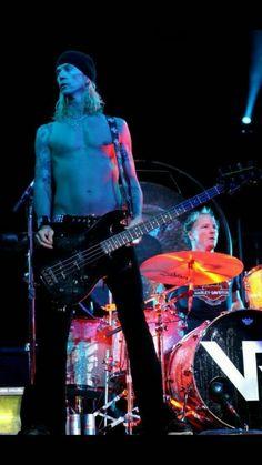 Duff Mckagan and Matt Sorum
