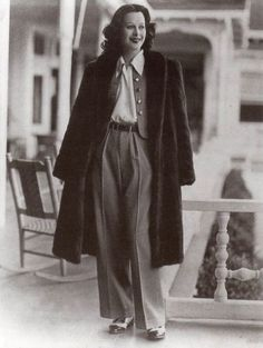 vintage everyday: These 50 Vintage Photos of Women in Giant Pants in the 1930s Are Fascinating